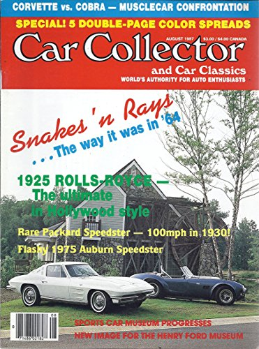 Car Collector and Car Classics Magazine (August ()