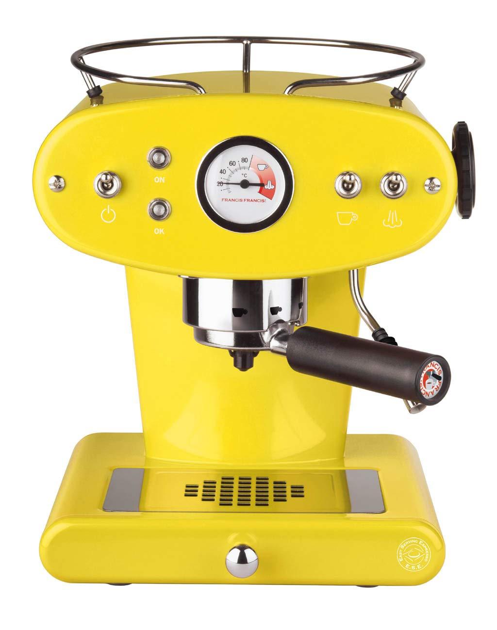 FrancisFrancis X1 Ground, Amarillo - Máquina de café: Amazon.es: Hogar