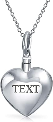 Live Love Laugh Heart Cremation Pendant Chain Sold Separately