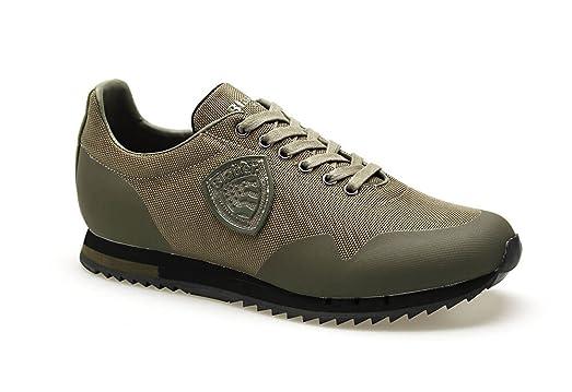 Blauer Usa 7fdetroit01/mes Sneakers Hombre Black 41 QnlwgKZ0e