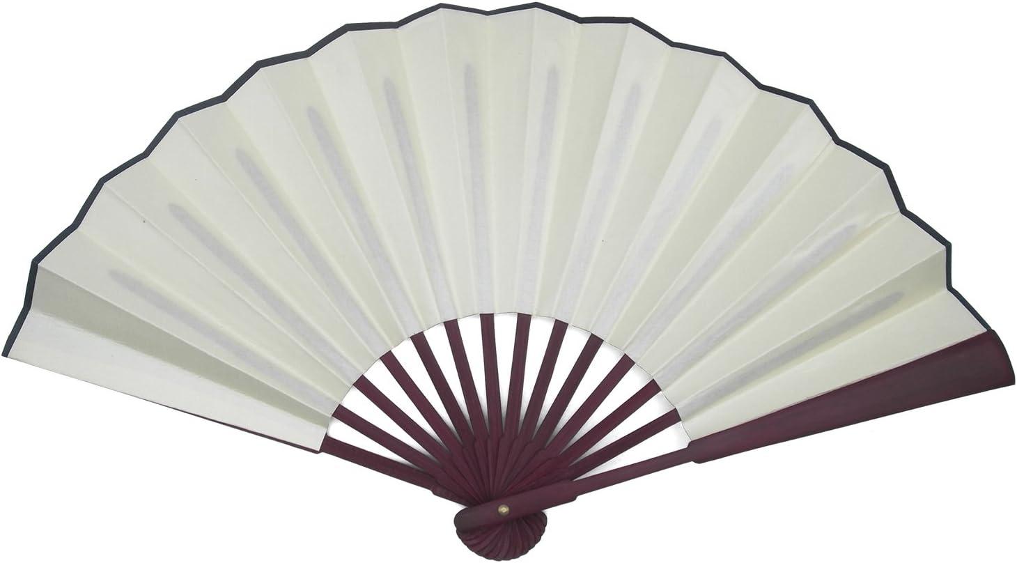 1 Set 5 Colors TRENDBOX 10.4 Chinese Traditional Nylon-Cloth Handheld Folding Fan