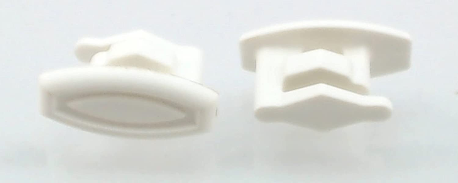 Rack Slide End Cap, 2 Pack for General Electric, Hotpoint, AP4484666, WD12X10304