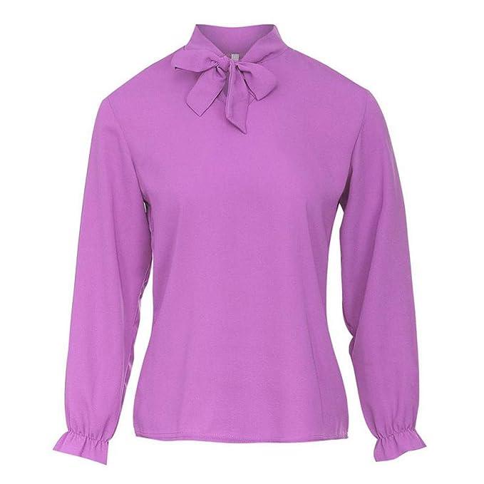Amazon.com: Zbkdds - Blusa para mujer, elegante, para ...
