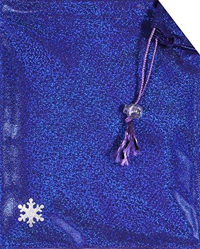 Snowflake Designs Sparkle Gymnastics Grip Bag - Blueberry
