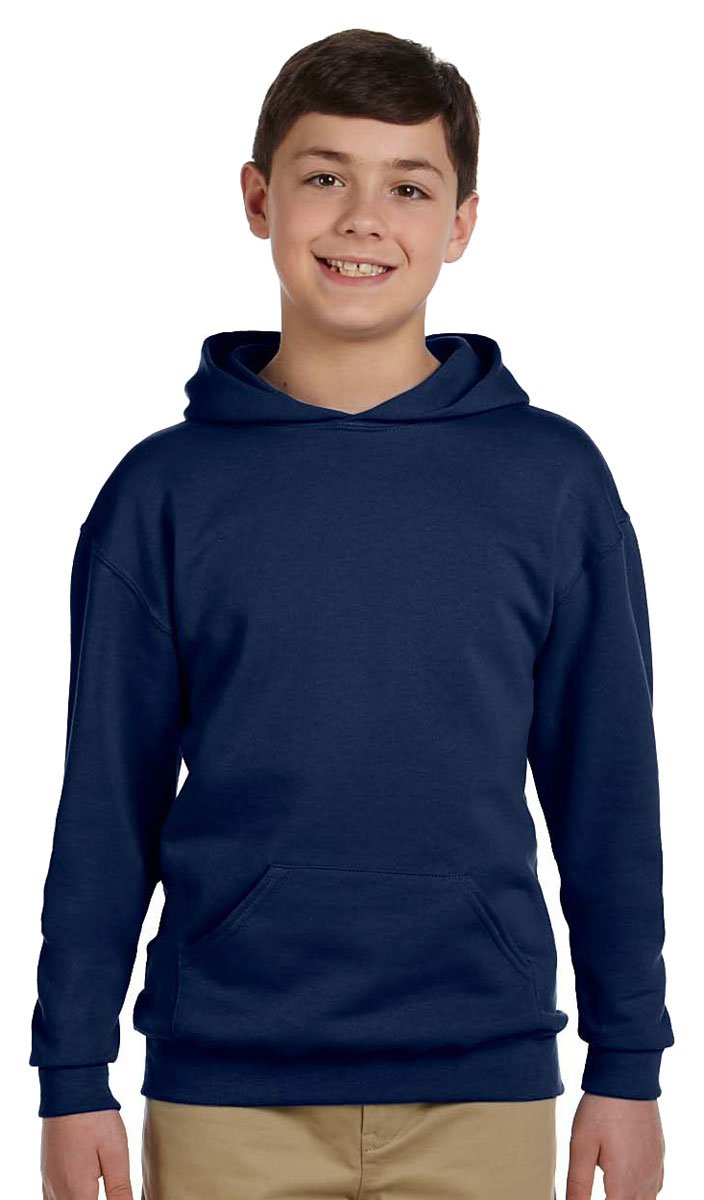Jerzees Youth 8 oz. 50/50 NuBlend Fleece Pullover Hood 996Y
