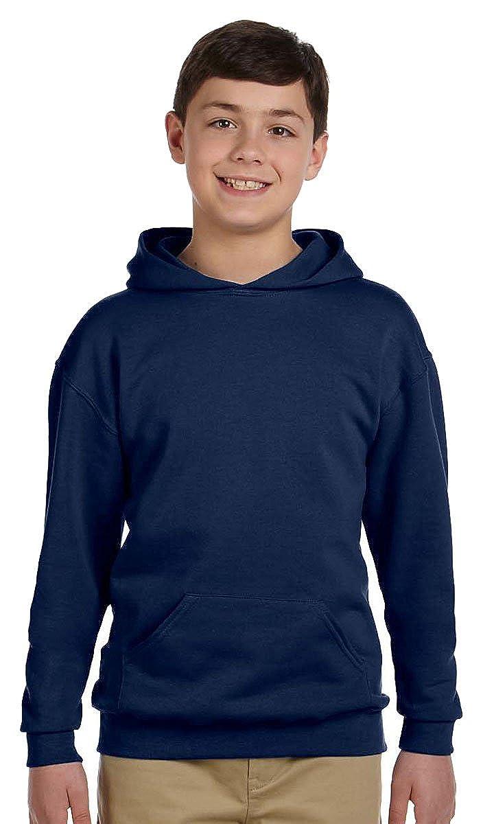 Jerzees Youth 8 oz. 50/50 NuBlend Fleece Pullover Hood 996Y
