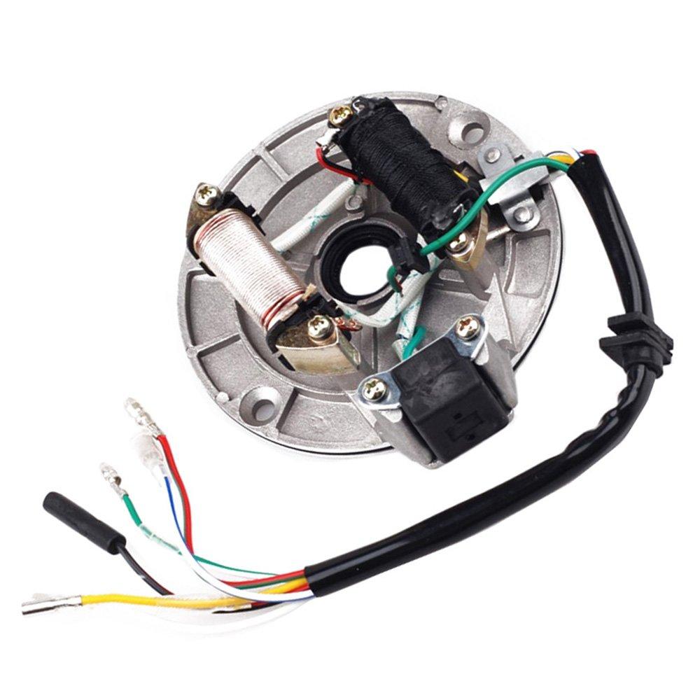 Amazon.com: JCMOTO Wire Harness Wiring Loom CDI Coil Magneto ...