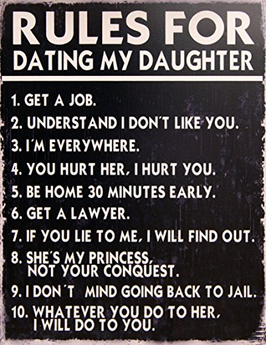 18 rules for dating my daughter