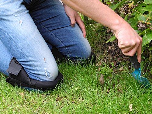 QUMAXX, Rodilleras de gel/ Protectores de rodillas para el trabajo y el jardín – Rodilleras profesionales/ Protectores de rodilla para jardinería y trabajos de construcción.: Amazon.es: Industria, empresas y ciencia