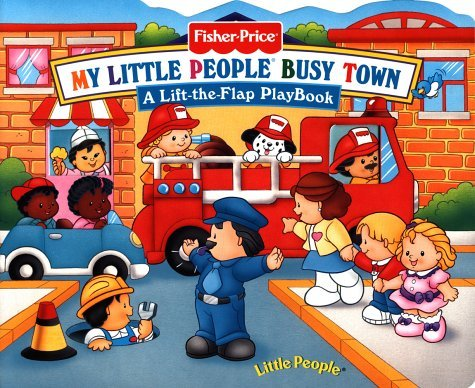 Read Online By Elenor Fremont Fisher Price Busy Town Lift the Flap (Fisher-Price Little People Mini-Flap PlayBooks) [Board book] pdf epub