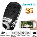 MKChung Phisung C1 FHD 1080p Car DVR Camera 3G WiFi Android 5.0 Dual Lens Dashcam