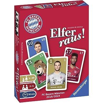 Ravensburger Tarjeta Juegos 20794 - Bayern Múnich elfer Raus 19 ...