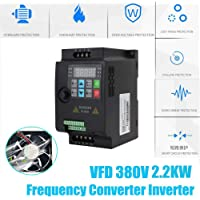Variador De Frecuancia VFD 380V 2.2kw trifásico,Convertidor Inversor