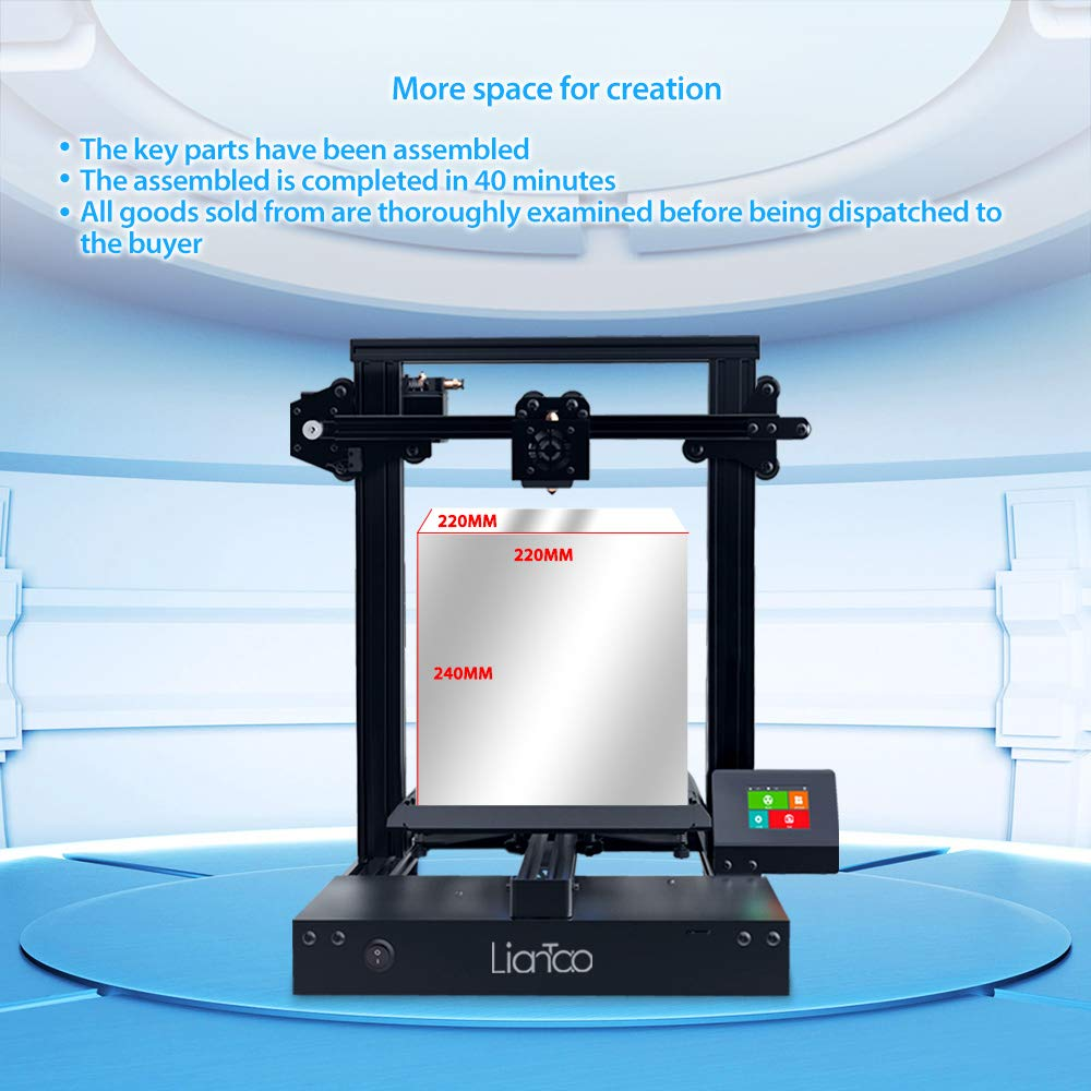 Liantao 3D Printers DIY Aluminum Printing Machine With