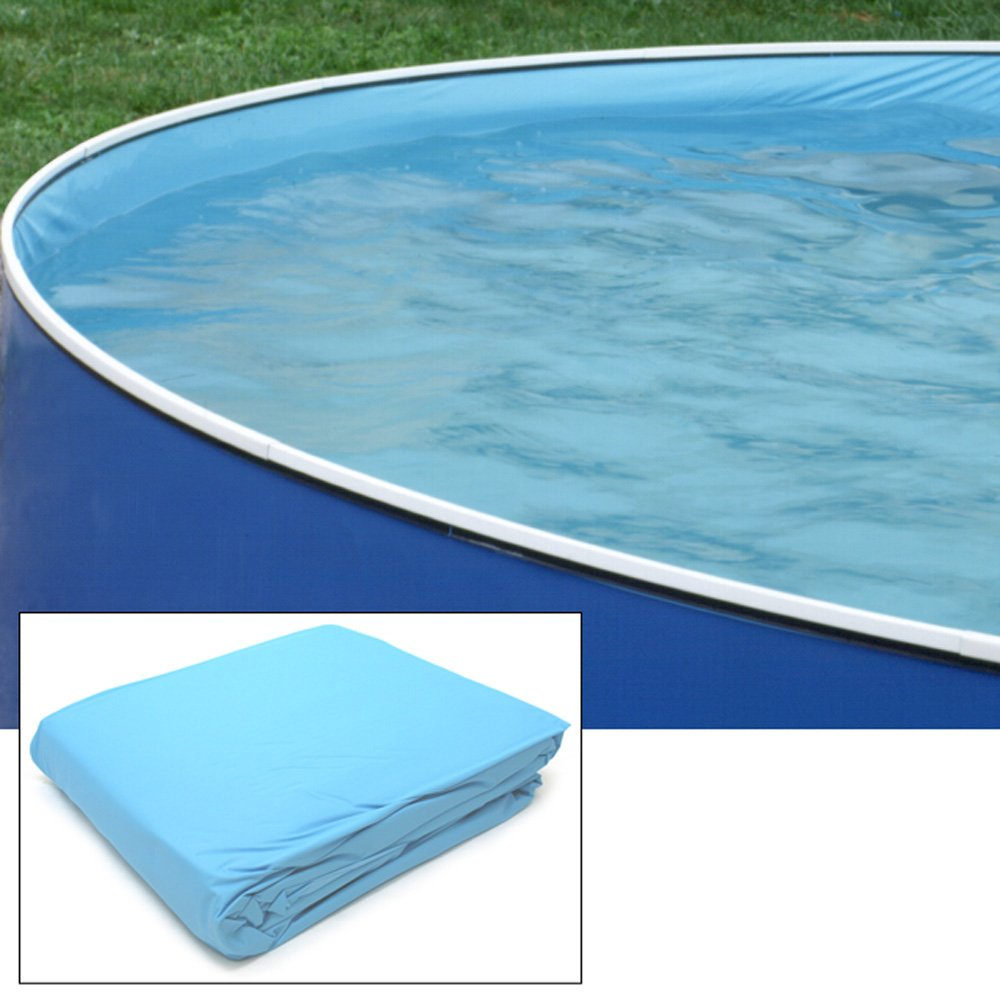 Above Ground Pool Liners - Amazon com splash pools vinyl round replacement liner with built in view port hole 15 feet by 36 inch swimming pool liners patio lawn garden