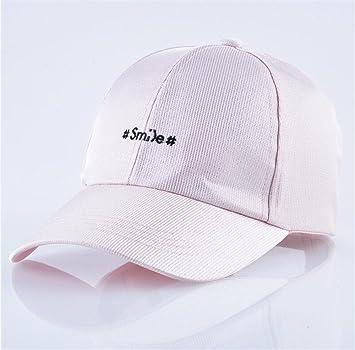 Gorra de béisbol Unisex Hat para hombres bordados Gorras Mujeres Hip Hop intermitente sombreros para Camping Viaje Hip-Hop Trucker Hat Don,Rosa: Amazon.es: ...