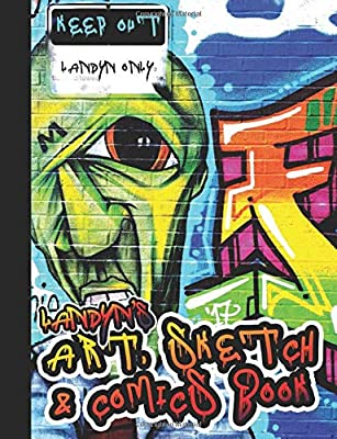 Landyn S Art Sketch Comics Book Landyn Graffiti Art