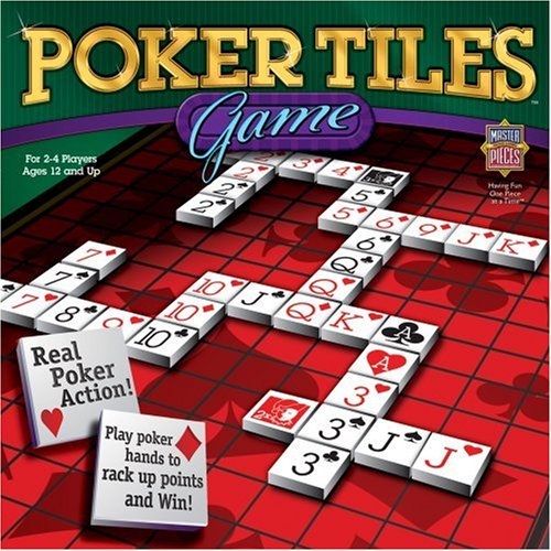 MasterPieces Poker Tiles Game by MasterPieces