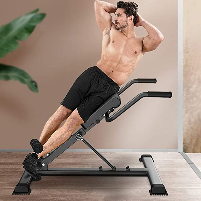Hop-Sport Hyperextension HS-1018 Bench Abdominal And Back Roman Chair