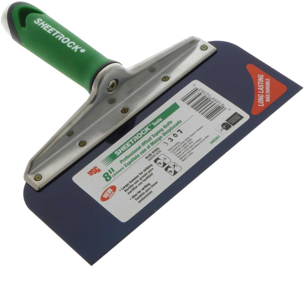 Amazon.com: USG Sheetrock – Cuchillo de acero azul con mango ...