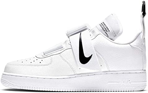 NIKE SNEAKERS AIR FORCE 1 UTILITY WHITE BLACK AO1531 101