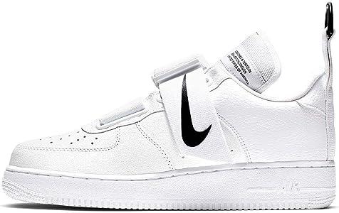 Nike Scarpe Sneakers da Uomo Air Force 1 Utility in Pelle  mmmLim