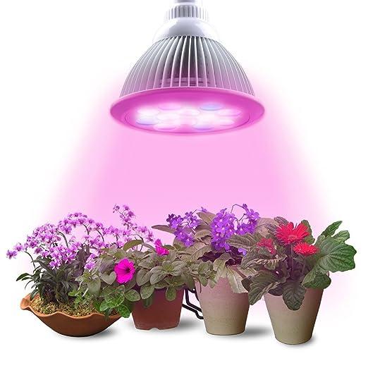 Lampade A Led Per Coltivazione Indoor.Lumin Tekco Grow Led Light Luci Per Piante E27 12w Lampada Da Coltivazione Indoor Idroponica Lampade Crescita Illuminazione Luce Per Pianti Frutta