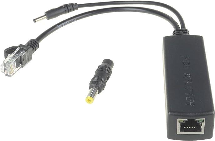 Dslrkit Active Poe Splitter Power Over Ethernet 48v To Computer Zubehör