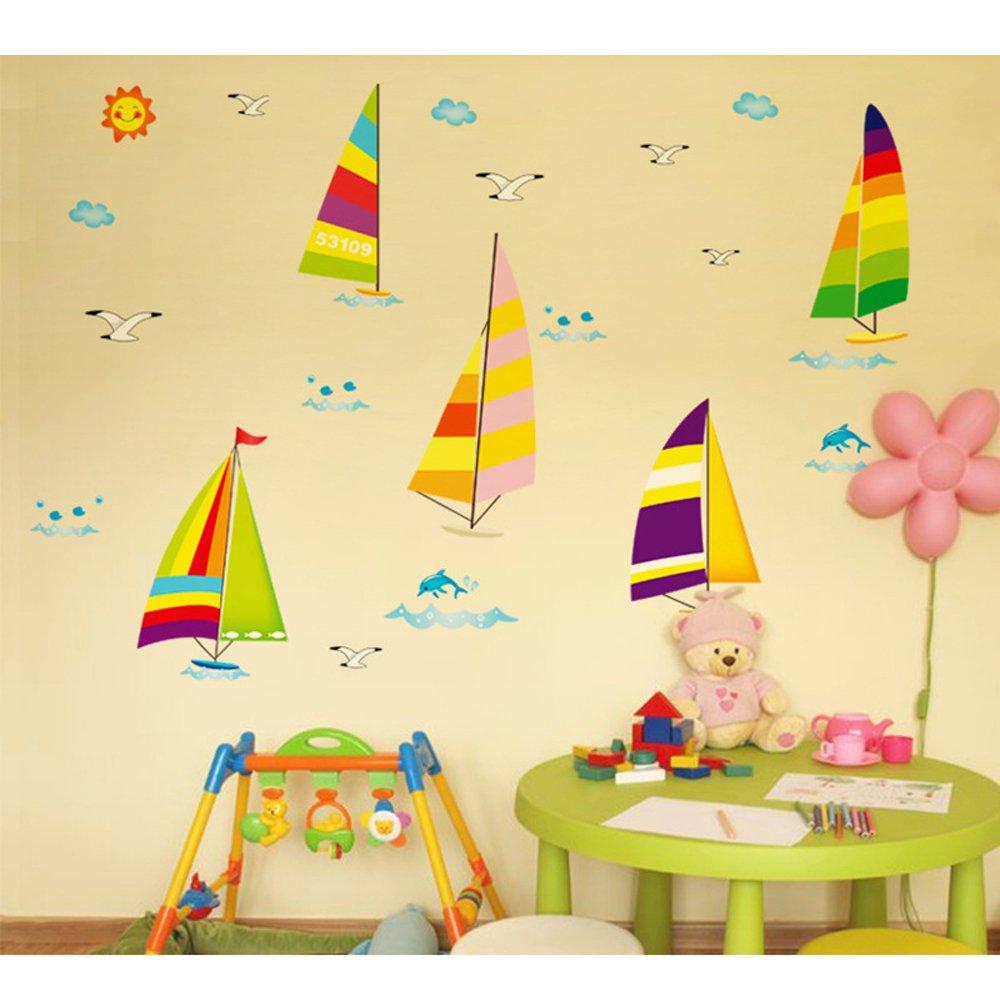 Japace® DIY Wallpaper Pegatinas de Pared Extraíbles Vinilos ...