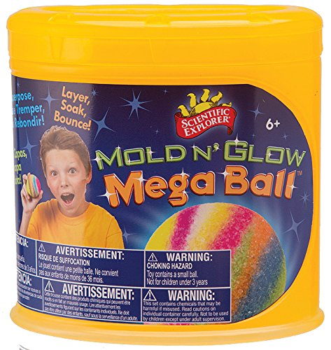 Scientific Explorer Mold n' Glow Mega (Rubber Ball Kit)