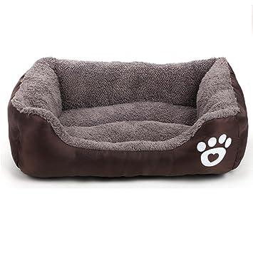 Hung Kai Cama para perro, alta calidad y cómoda, muchos colores/tamaños,