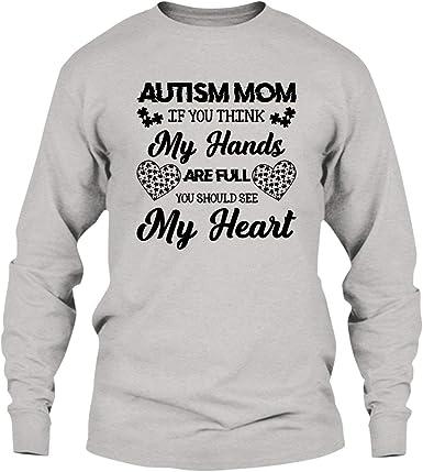 Autism Mom Tee Shirt Design Long Sleeve Shirt