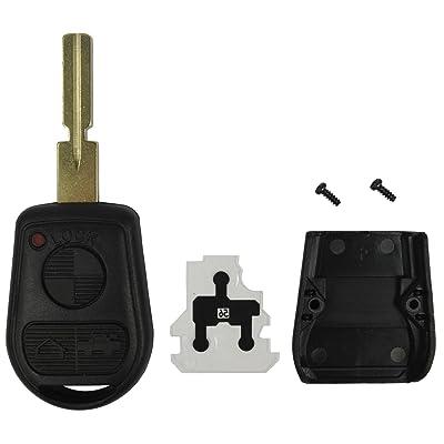 Replacement Keyless Remote Fob Key Shell Case Replacement Fit For BMW 318i 323i 525i 528i 530i 535i 540i 735i 740i 740iL M3 M5 X5 Z3 Z8 LX8FZV: Automotive