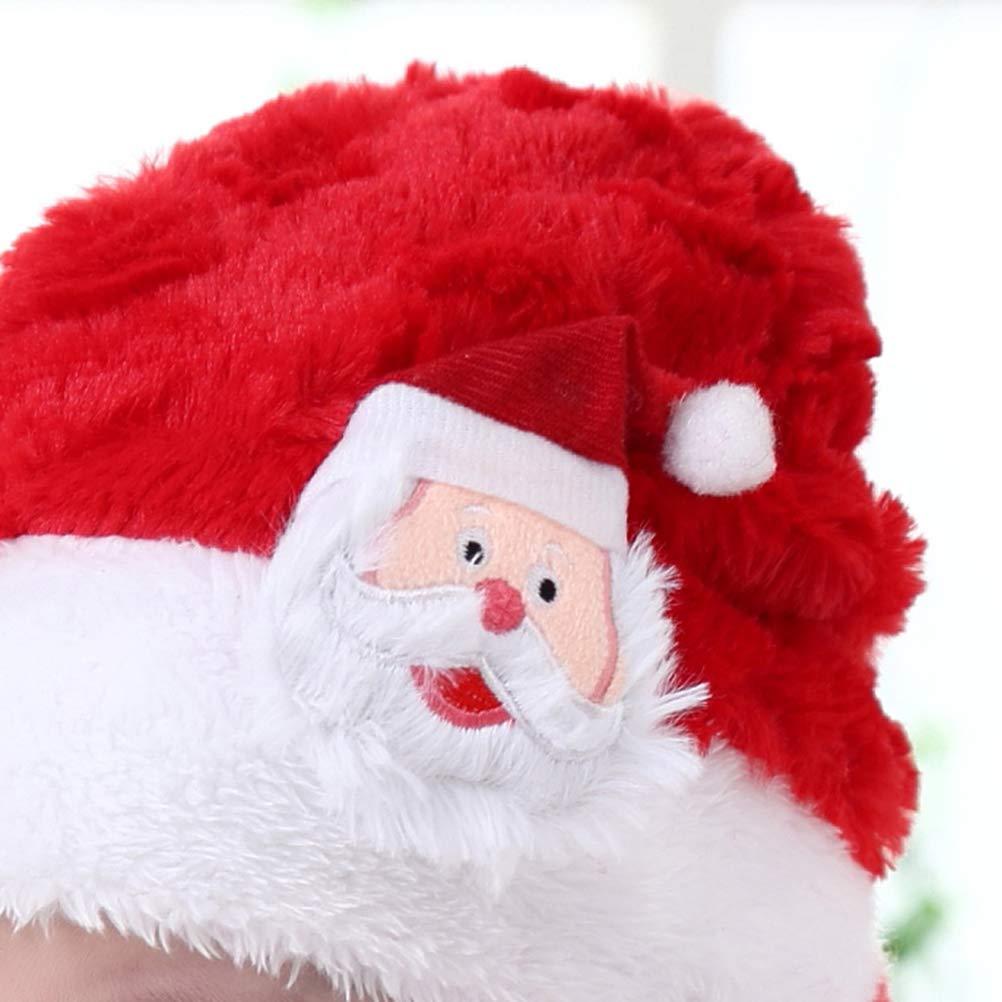 BESTOYARD Sombrero y Bufanda de Navidad Santa Claus Warm Plush Hat Bufanda  Festival Traje para bebés niños (Rojo)  Amazon.es  Ropa y accesorios f5b9c096953