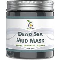 Dode Zee Gezichtsmasker 250g, veganistisch, met modder uit de Dode Zee - werkt tegen puistjes, mee-eters en acne - anti…