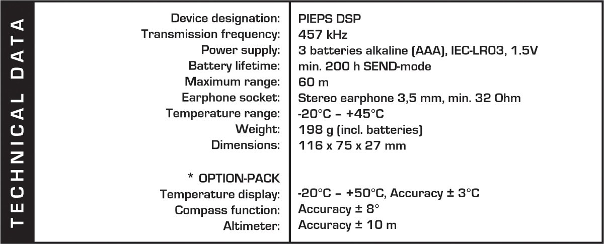 PIEPS DSP Smart Transmitter Avalanche Search Beacon by PIEPS (Image #3)