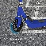 PRIXTON-Monopattino-Pieghevole-per-Ragazzi-e-RagazzeScooter-Elettrico-per-Bambini-Unisex-velocit-Massima-6-kmh-Autonomia-5-km-Alluminio-ad-Alta-Resistenza-Colore-Blu-SCO500