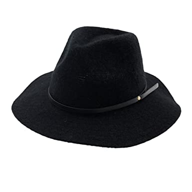 Image Unavailable. Image not available for. Colour  Zhhlaixing Women s Wool Felt  Trilby Hats ... 335766c133b