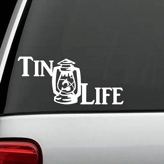 Pegatina De Pared Frases Tin Lantern Life Decal Sticker Die