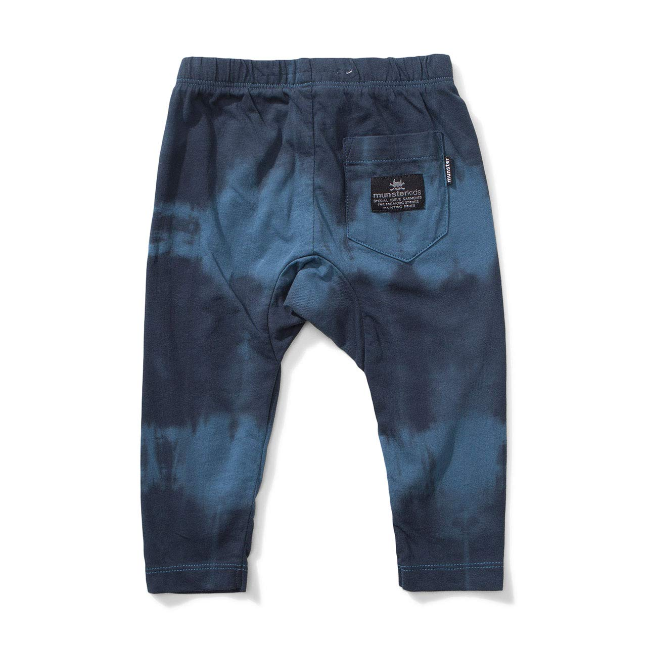 Baby Boys 3 Spills Pants Blue Size 3-6 Months Munster Kids Munster