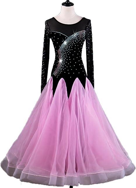 Falda de Danza Moderna para Mujer Vestidos de Rendimiento Mangas ...