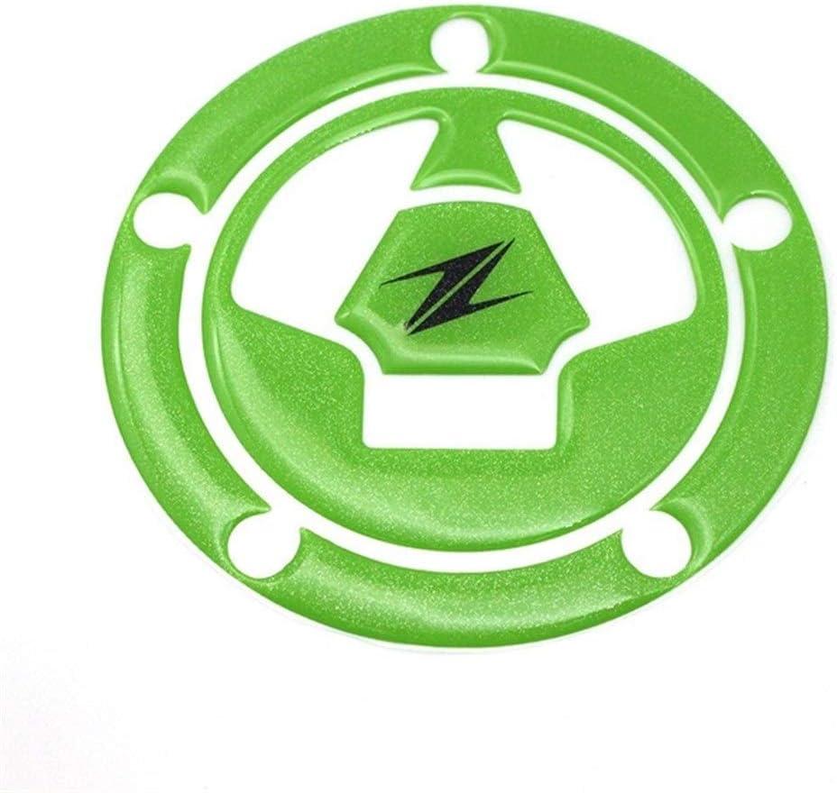 Tapa del Tanque de Petr/óleo y Gas de Combustible de la Motocicleta Cubiertas Pad Pegatinas Protector for Kawasaki Z1000 Z 1000 Z1000SX Z800 Z750 Z 800 Z 750 Color : 1 Set