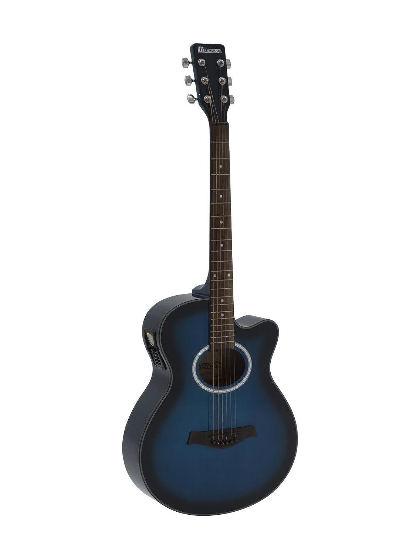 Guitarra Western BRUCE con pickup, blueburst - Guitarra country ...