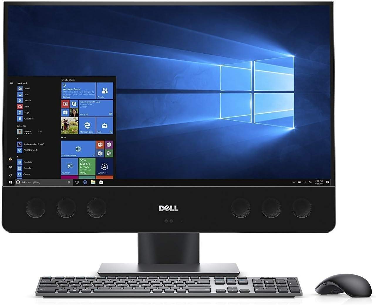 "Dell XPS 7760 27"" Touchscreen Intel Core i5-7400 X4 3GHz 8GB 1TB + 256GB Win10, Silver (Renewed)"