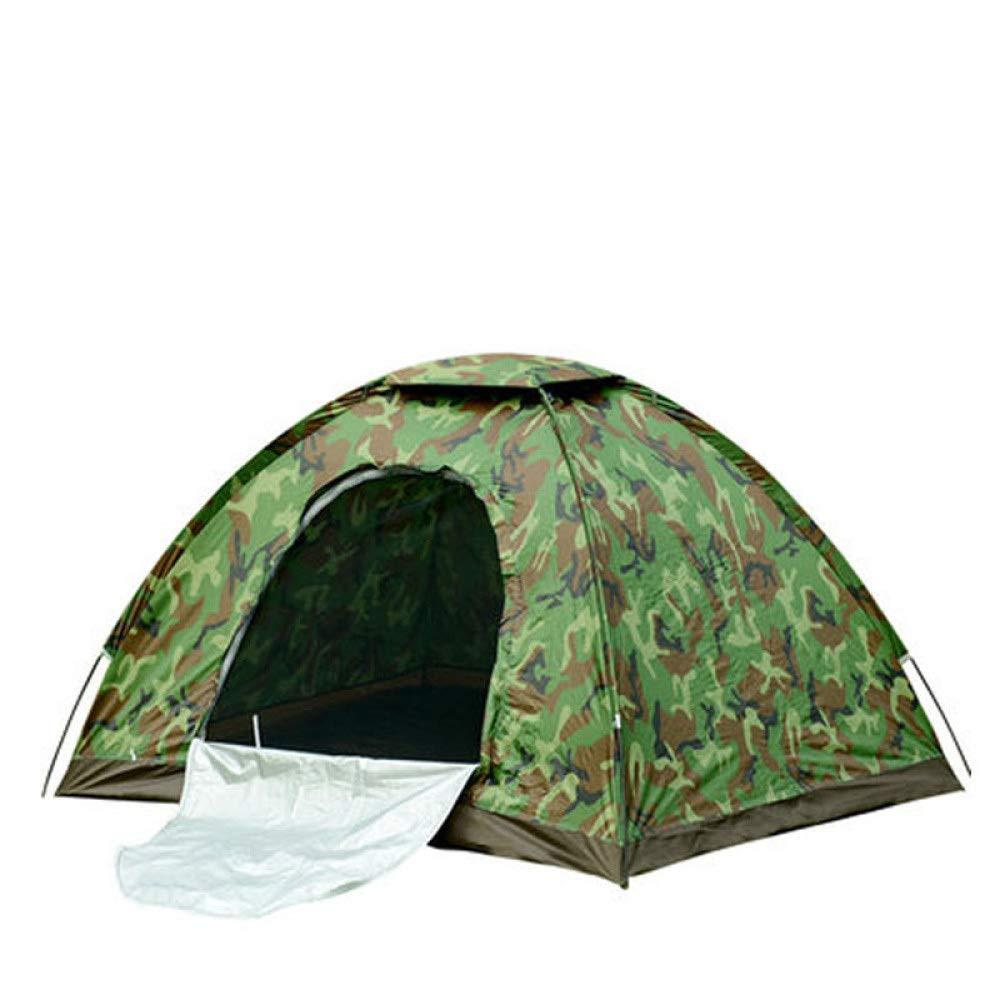 LBAFS Tarnungs-Zelt Im Freien Regendichtes Anti-Moskito Für Familien-Party-kampierenden Strand-Fischen-Park, 3-4 Person,Multi-Farbeed