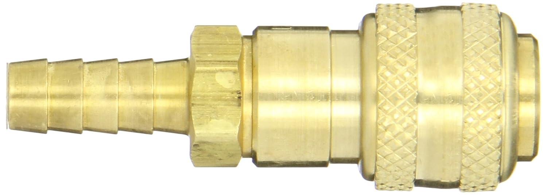 Dixon Valve 2DS3-B Brass Automatic Industrial Interchange Pneumatic Fitting Socket 1//4 Coupler x 3//8 Hose ID Barbed 1//4 Coupler x 3//8 Hose ID Barbed Dixon Valve /& Coupling