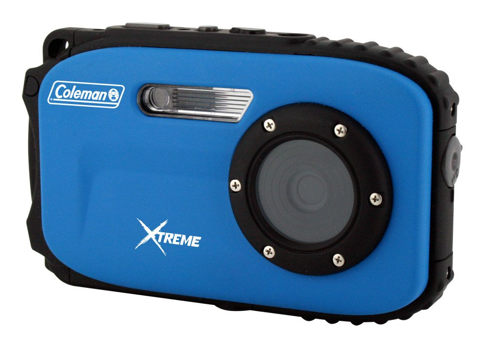 Coleman Xtreme C5WP 16.0 MP 33ft Waterproof Digital Camera, Blue by Coleman