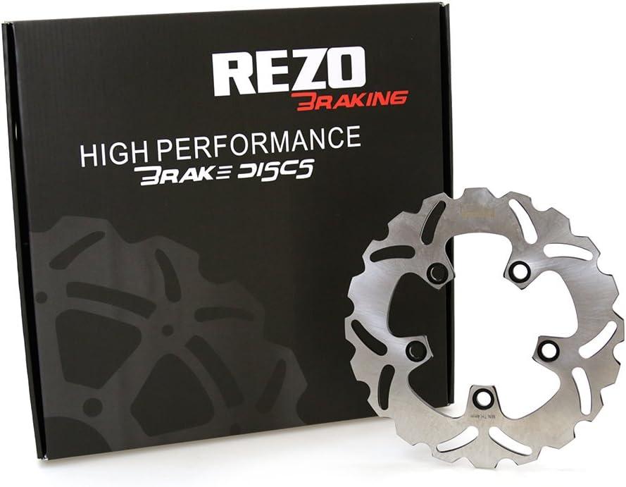 Rezo Wavy Stainless Steel Rear Brake Disc Suzuki GSX-R 600//750 SV 650