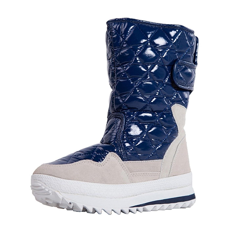 SkiBoot Women/Girl's Waterproof Winter Warm Snow Boots Shoes