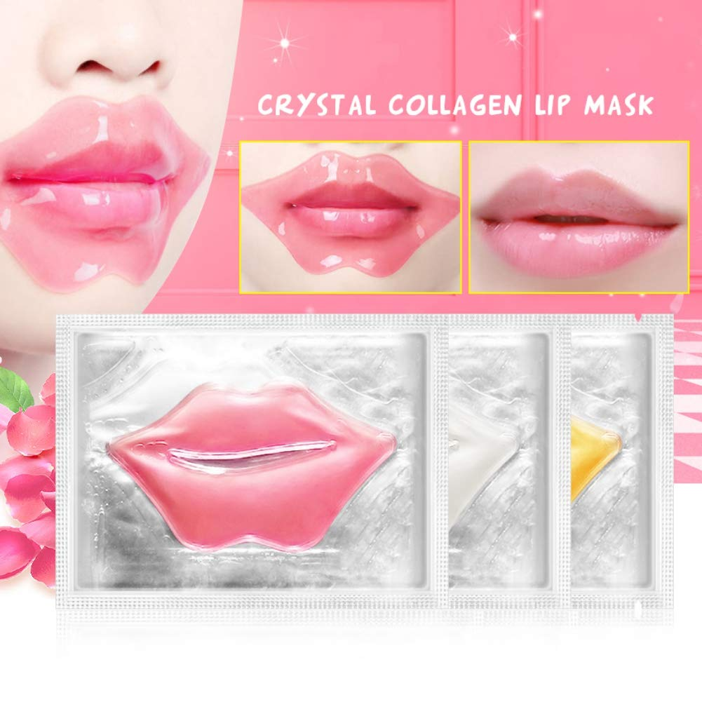 Mascarillas de labios Yiitay Collagen Máscara de labios ...